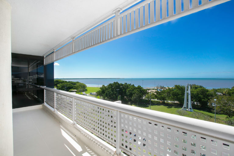 Cairns Luxury Seafront Apartment Balcony View 3