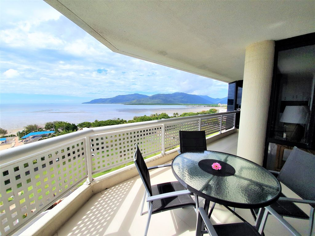 Cairns Ocean View Apartment Balcony Seating